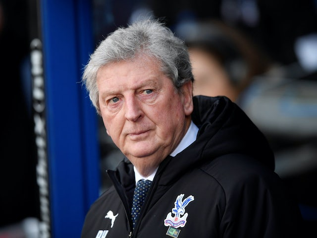 Crystal Palace boss Roy Hodgson on February 1, 2020
