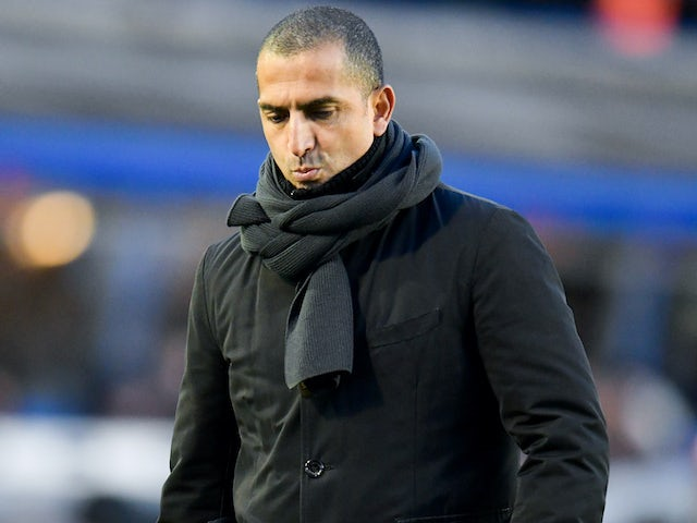 Nottingham Forest boss Sabri Lamouchi on February 1, 2020