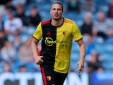 Sebastian Prodl in action for Watford on July 27, 2019