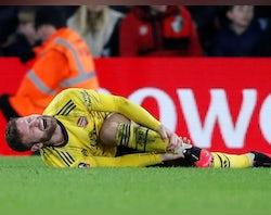 Arsenal injury, suspension list vs. Burnley