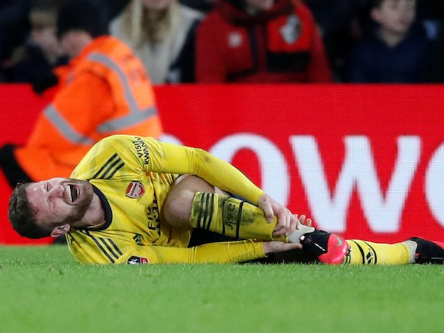 Mikel Arteta provides Shkodran Mustafi injury update