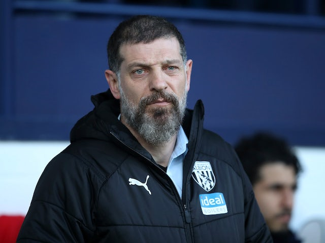 West Brom boss Slaven Bilic on February 1, 2020
