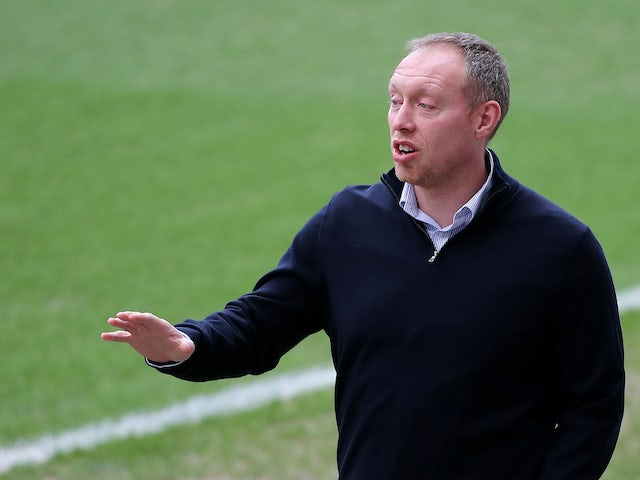 Swansea boss Steve Cooper on February 1, 2020