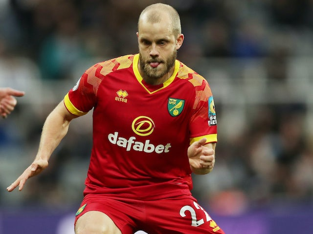 Teemu Pukki in action for Norwich City on February 1, 2020