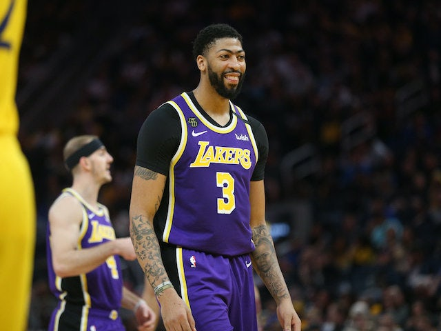 NBA roundup: Anthony Davis, LeBron James lead Lakers to win at Golden State Warriors