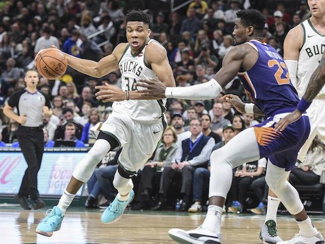 NBA roundup: Milwaukee Bucks bounce back with dominant win over Phoenix Suns