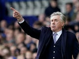 Everton manager Carlo Ancelotti on February 8, 2020