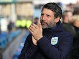 Huddersfield boss Danny Cowley on February 8, 2020