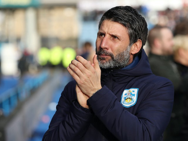 Huddersfield boss Danny Cowley on February 8, 2020