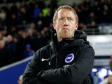 Brighton boss Graham Potter on February 8, 2020