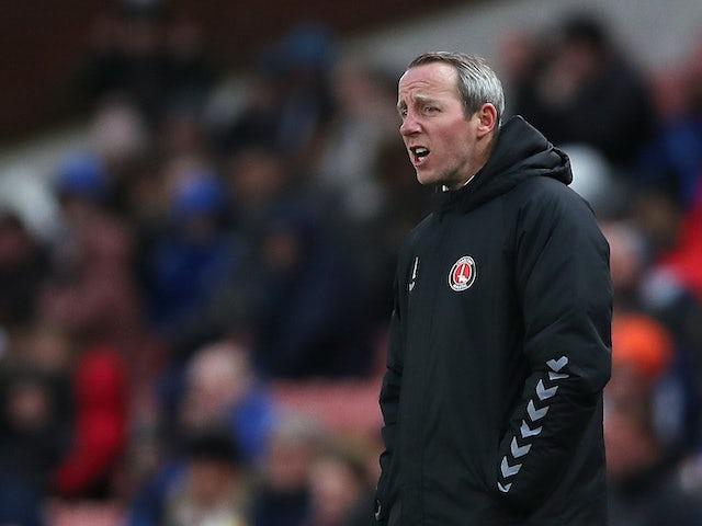 Charlton boss Lee Bowyer on February 8, 2020