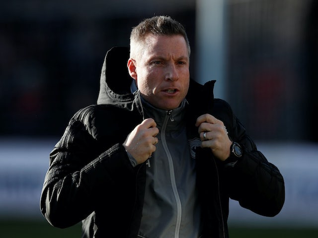 Cardiff boss Neil Harris on February 8, 2020
