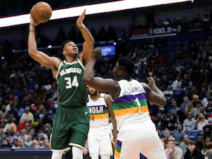 NBA roundup: Antetokounmpo leads Bucks to victory over Pelicans