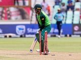 Quinton De Kock in action for South Africa on February 7, 2020