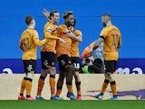 Mallik Wilks celebrates equalising for Hull City on February 8, 2020