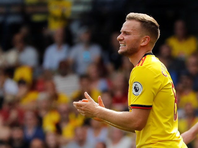 Tom Cleverley in line for Watford return at Brighton