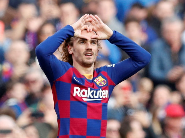Griezmann expects Getafe win to be springboard for Barca