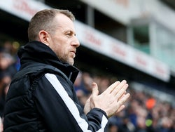 Millwall boss Gary Rowett on February 15, 2020