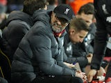 Liverpool boss Jurgen Klopp on February 15, 2020