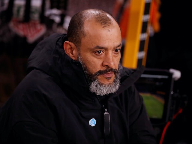 Wolves boss Nuno Espirito Santo on February 14, 2020