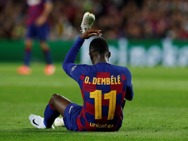Barcelona looking to raise more than £117m through player sales