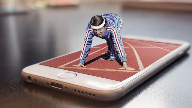 phone marathon start