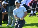 Rory McIlroy in action on February 15, 2020