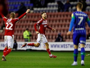 Wigan, Middlesbrough play out action-packed draw