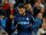 Real Sociedad striker Willian Jose pictured in November 2019