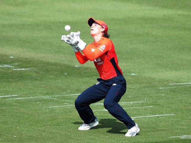 Amy Jones relishing new role after England Women win again