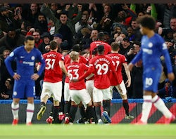 Chelsea 0-2 Manchester United - as it happened