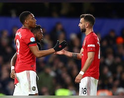 Anthony Martial a doubt for Everton clash?