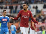 Chris Smalling in action for Roma in November 2019