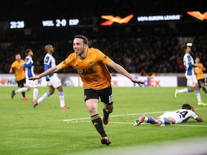 Diogo Jota hat-trick inspires Wolves to emphatic first-leg victory