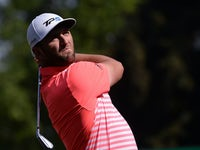 Jon Rahm in action in Mexico on February 22, 2020