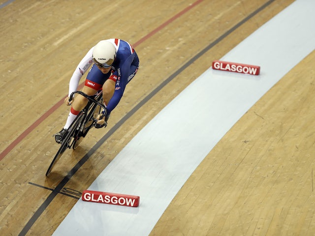 Olympic sprinter Katy Marchant swaps bike for tractor during lockdown