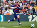Lionel Messi in action for Barcelona on February 22, 2020
