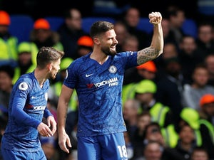 "Olivier Giroud hails ""team spirit"" after Chelsea beat Spurs"