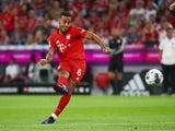 Bayern Munich midfielder Thiago Alcantara pictured in August 2019