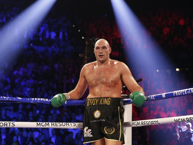 Coronavirus: Tyson Fury vows to emerge from lockdown as a