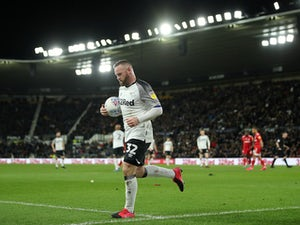 Team News: Wayne Rooney to feature for Derby County against Manchester United