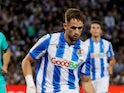 Adnan Januzaj pictured for Real Sociedad in December 2019