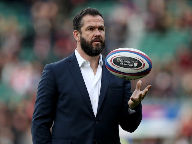 Andy Farrell 'privileged' to be involved in Cian Healy's special occasion