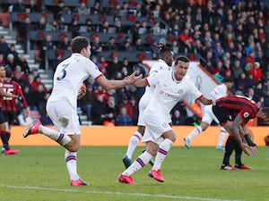 Marcos Alonso brace salvages point for Chelsea at Bournemouth