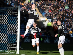 Tom Lawrence bags brace as Derby win at Wednesday