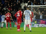 Huddersfield Town's Karlan Grant scores their second goal from the penalty spot on February 25, 2020