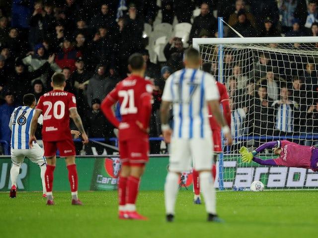 Result: Huddersfield ease relegation concerns with surprise win over Bristol City