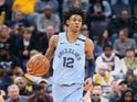 Ja Morant in action for the Grizzlies on February 29, 2020