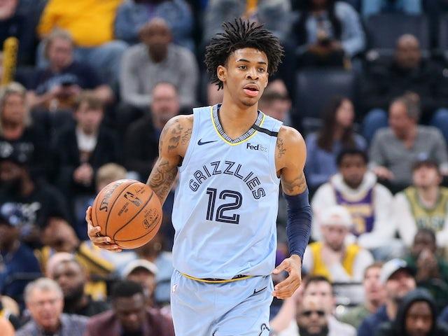NBA roundup: Grizzlies halt Lakers' winning run