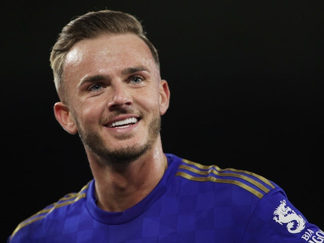 Leicester City's James Maddison pictured on February 27, 2020